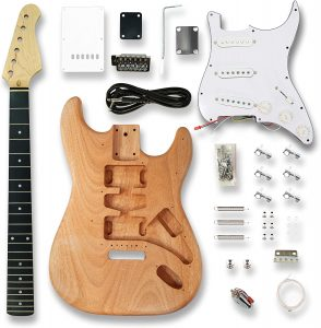 Okoume Wooden ST Electric Guitar