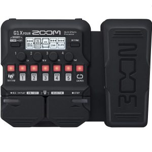 Zoom G1X Best Guitar Multi Effects Pedal